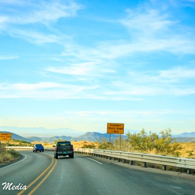 Heading to White Sands National Monument