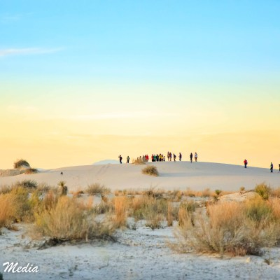 Large dune at White Sands National Monument