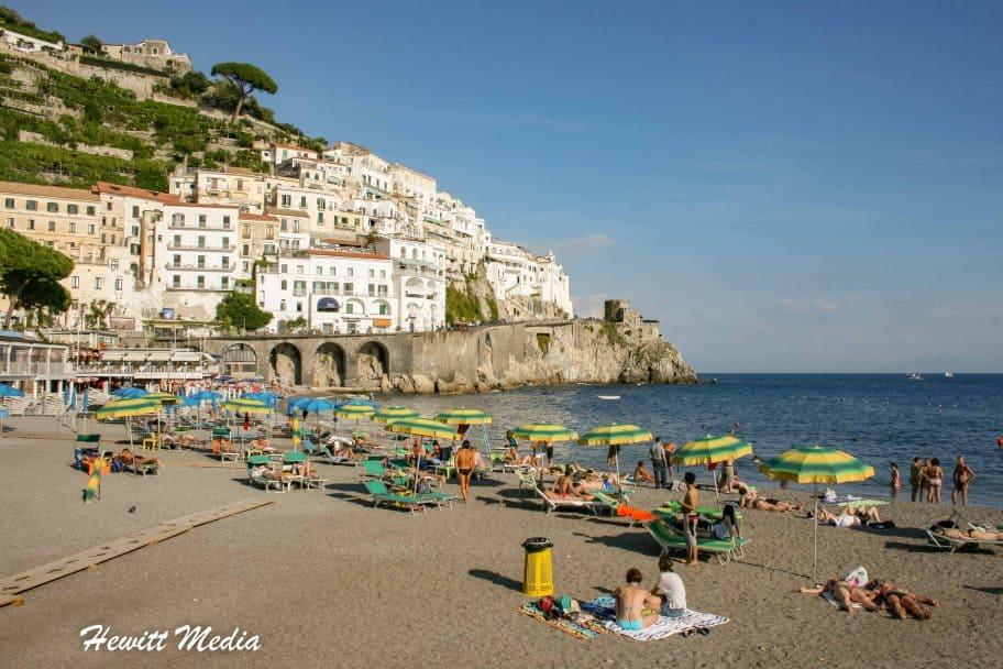 Castiglione di Ravello Beach, Amalfi Italy-9169
