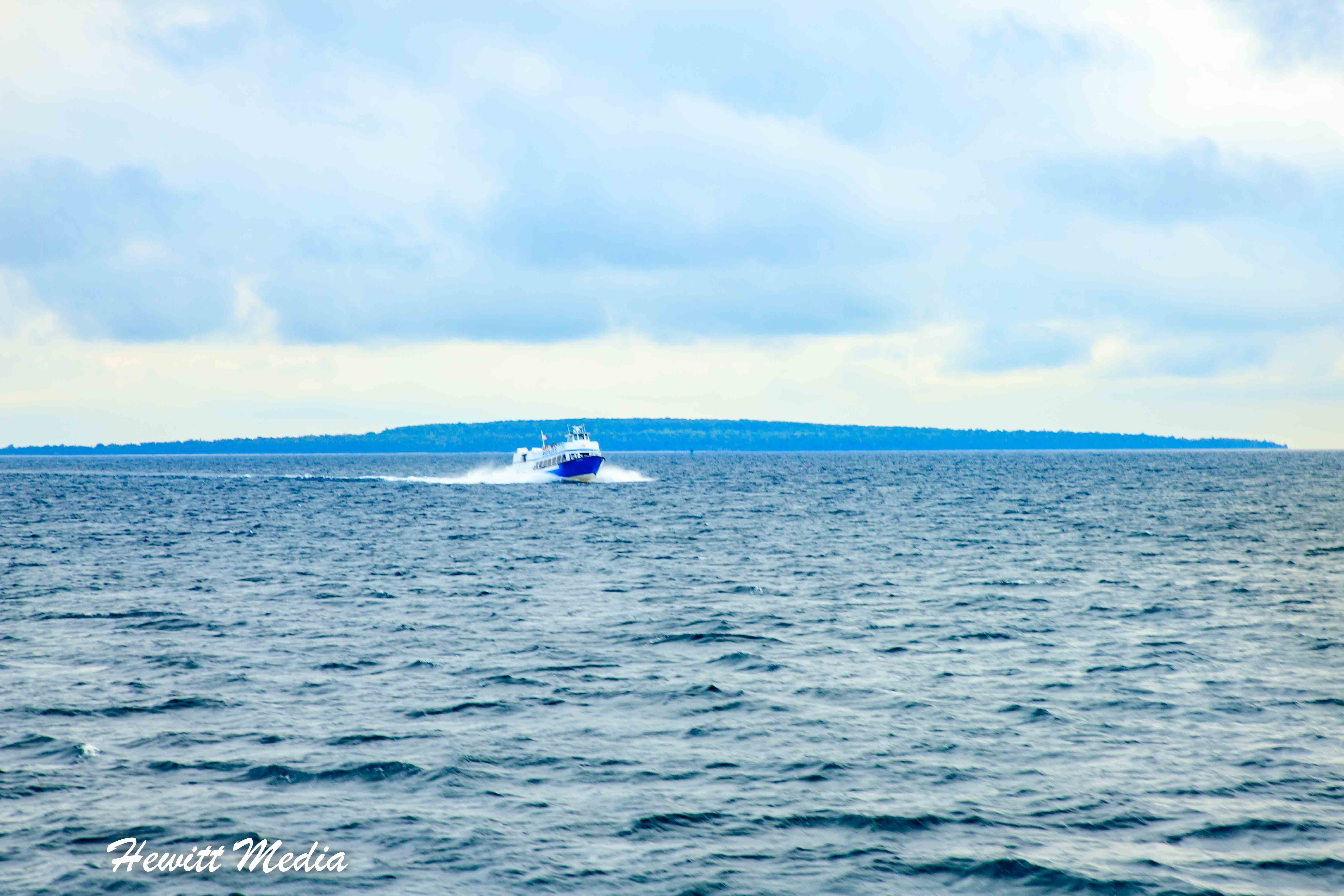 Ferry to Mackinac Island