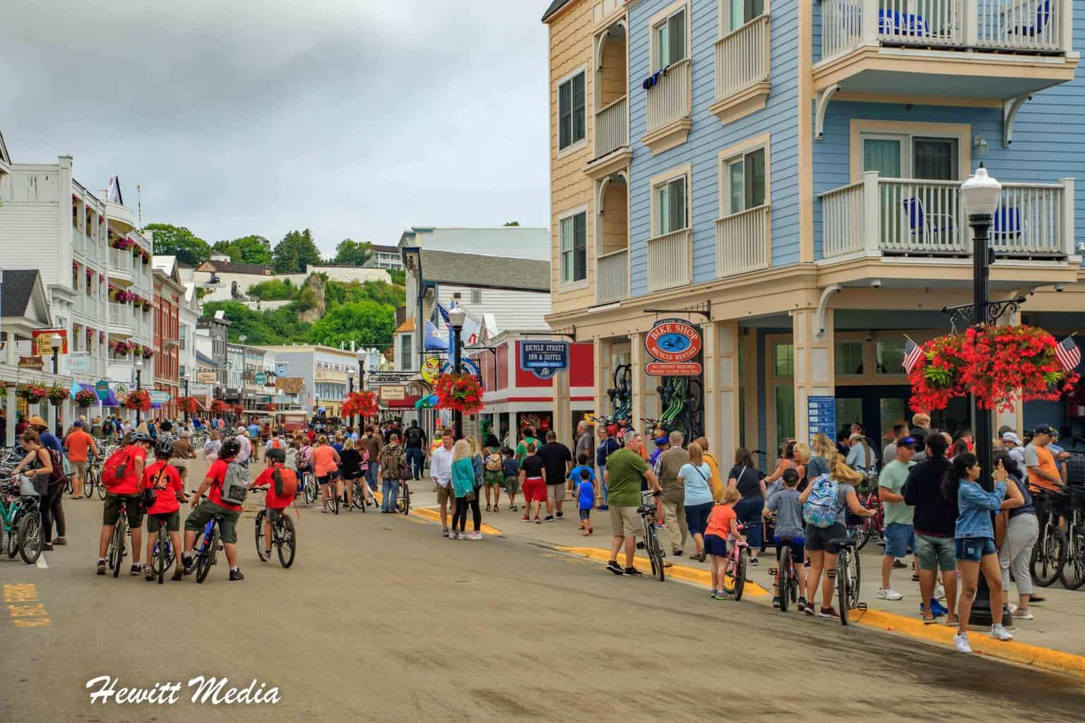Historic Downtown Mackinac Island