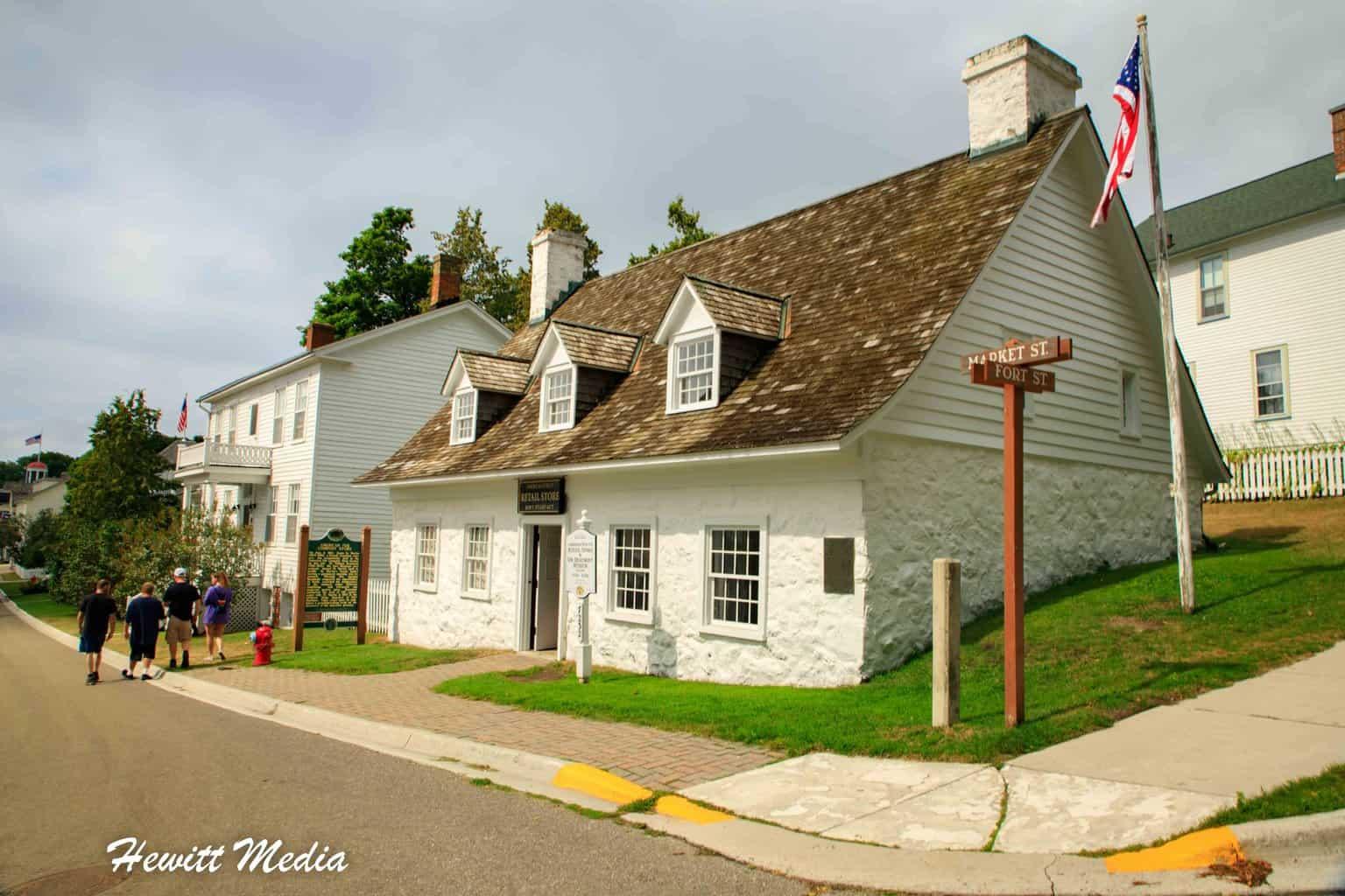 Historic American Fur Company Store