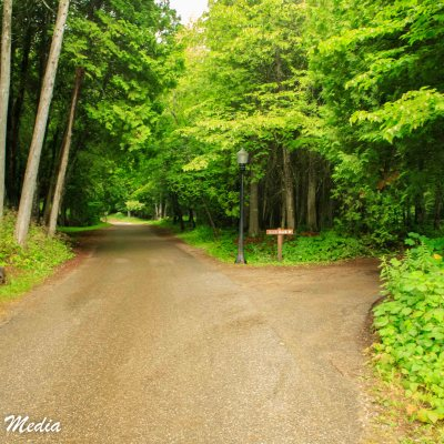 Hiking and Biking Paths on Mackinac Island