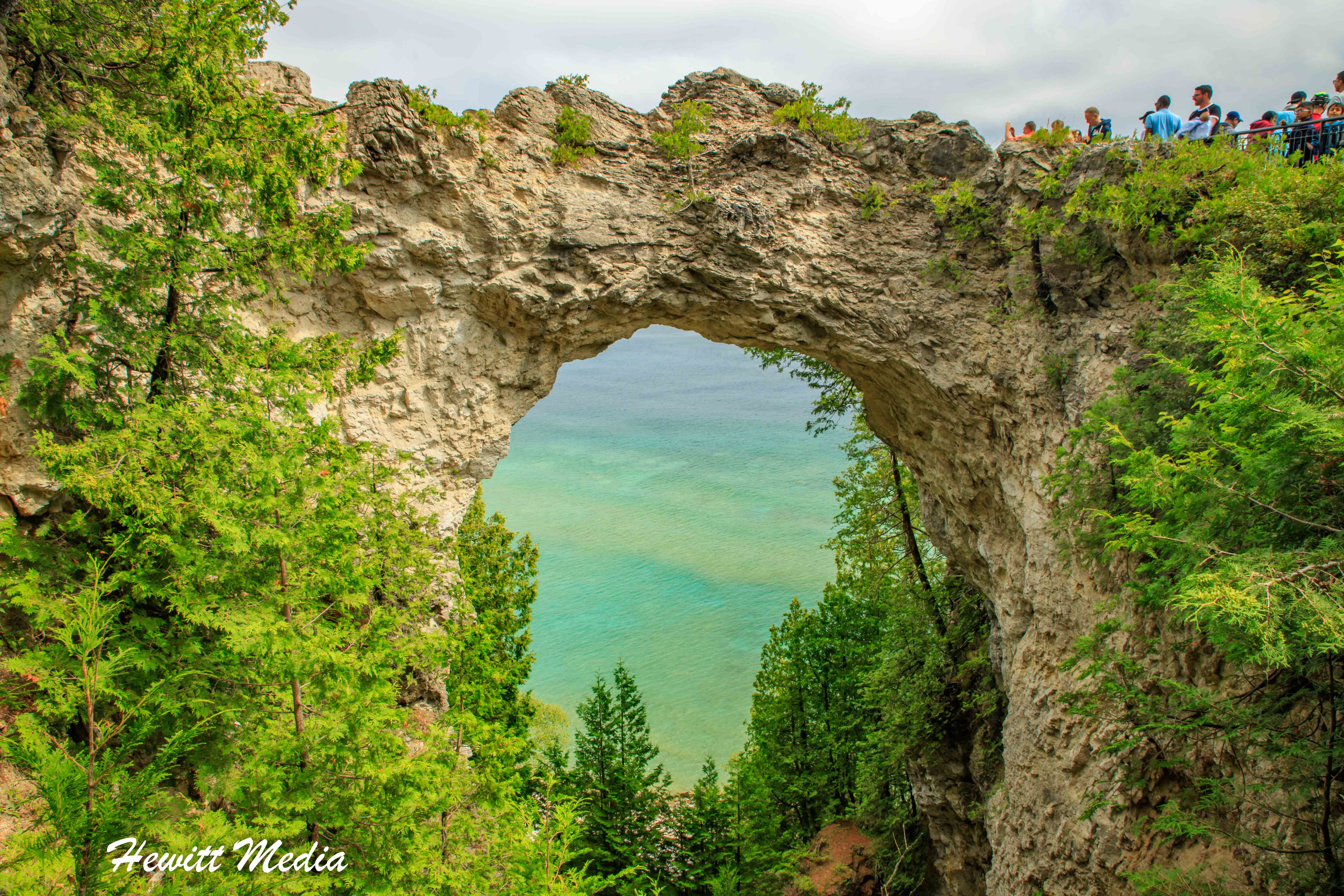 The Beautiful Arch Rock