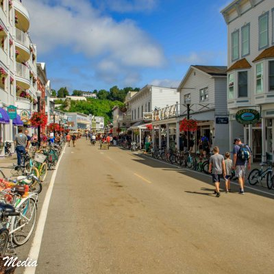 Historic Downtown Mackinac Island