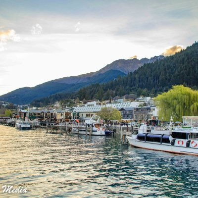 Docking in Queenstown