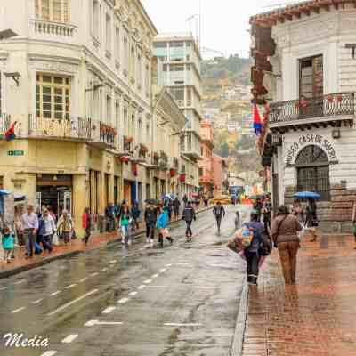 Touring Quito, Ecuador