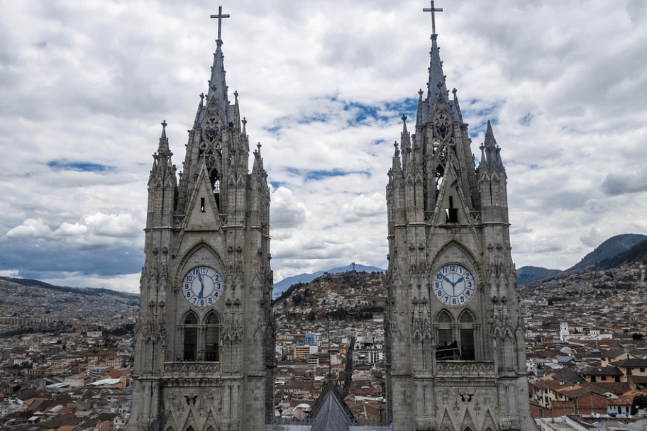 Towers Basilica Quito