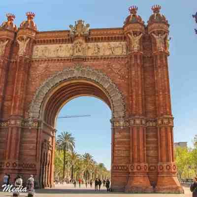 Arco de Triunfo de Barcelona