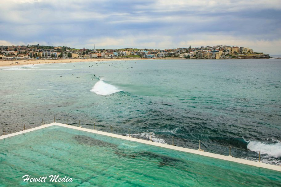 Bondi Beach and the Bondi Icebergs Club Pool