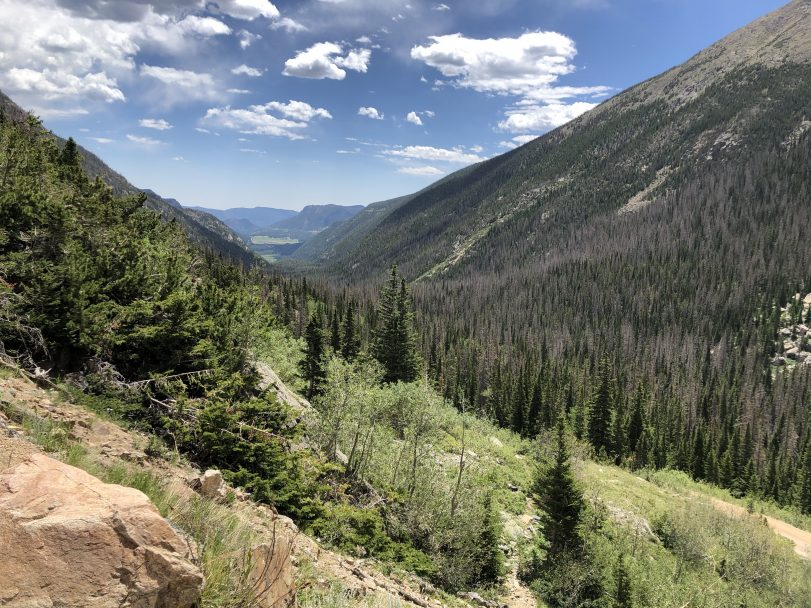 Travel Journal (7/9/2020):  Exploring Rocky Mountain National Park