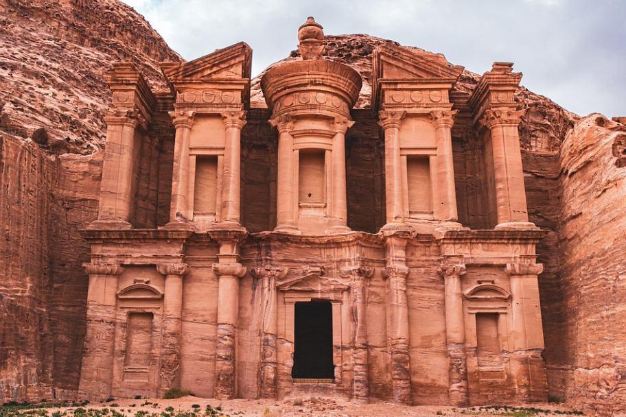 Top 2021 Travel Destinations - Petra Jordan