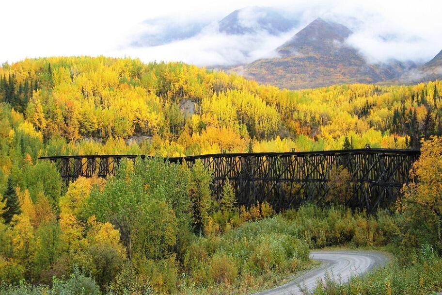 Wrangell St. Elias National Park Autumn
