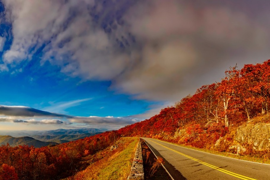 Shenandoah National Park Autumn