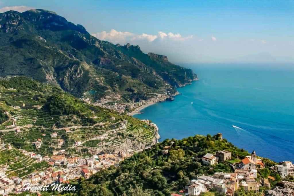 Amalfi Coast Italy travel itinerary