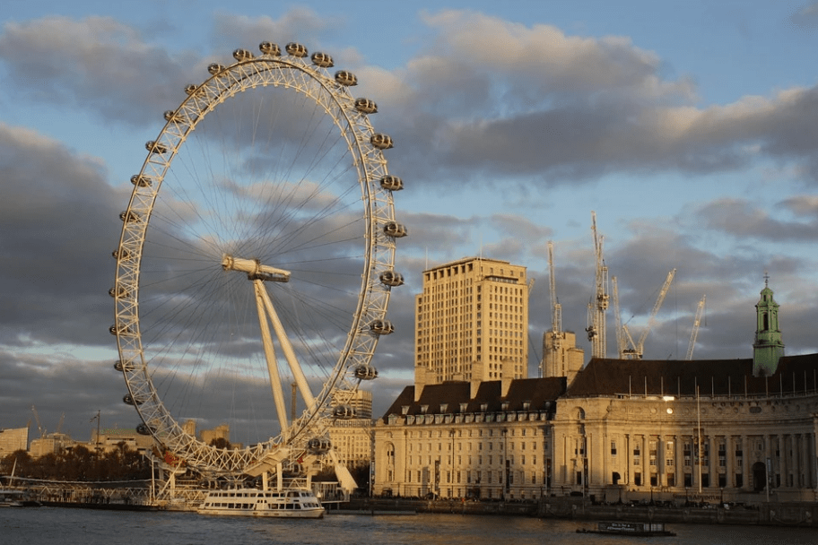 London travel guide - The London Eye