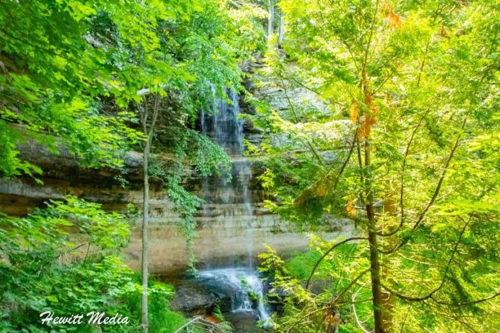 Pictured Rocks Travel Guide - Munising Falls