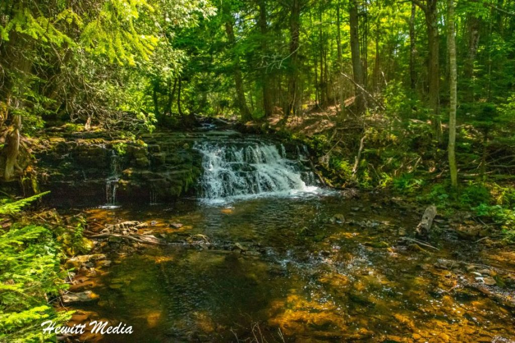 Pictured Rocks Travel Guide - Mosquito Falls