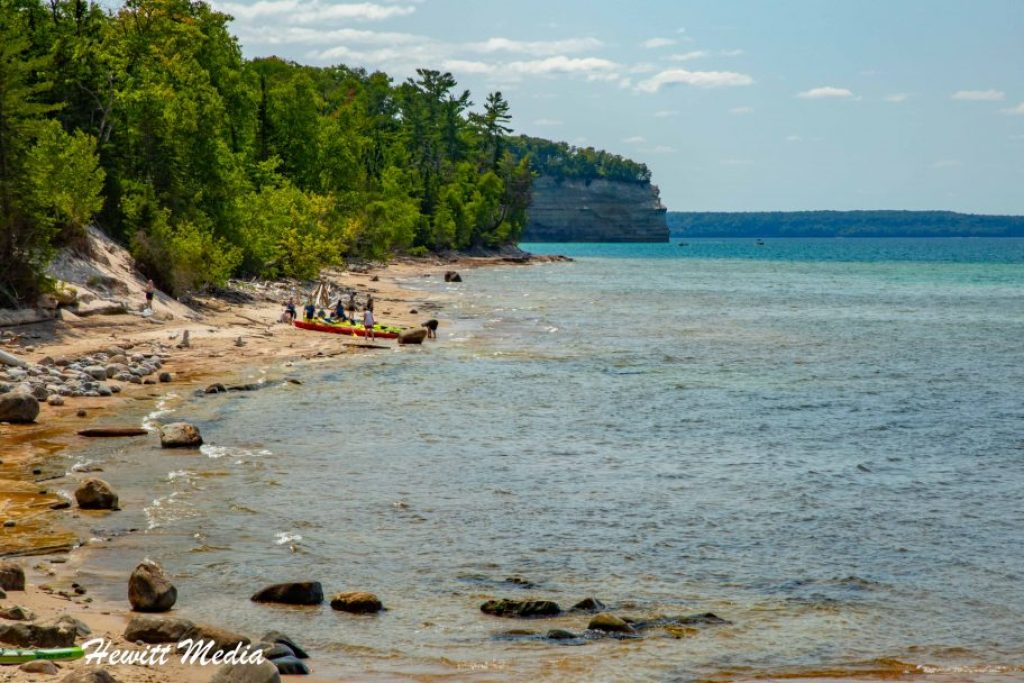 Pictured Rocks Travel Guide - Mosquito Beach