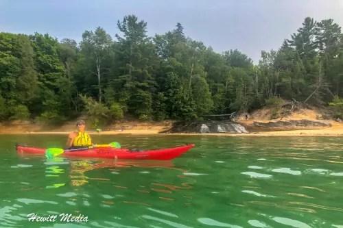 Pictured Rocks Kayak-8136