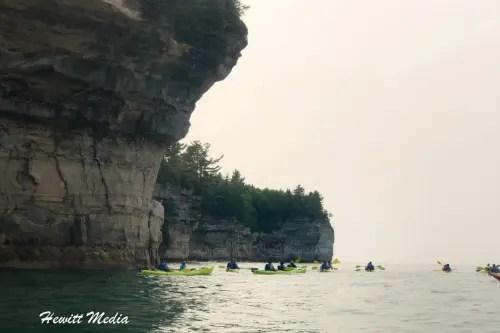 Pictured Rocks Kayak-8152