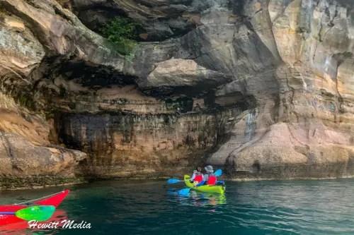 Pictured Rocks Kayak-8172