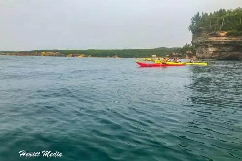 Pictured Rocks Kayak-8190