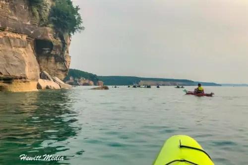 Pictured Rocks Kayak-8246