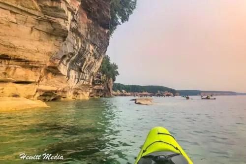 Pictured Rocks Kayak-8256