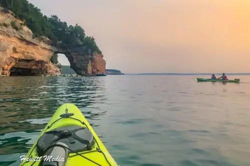 Pictured Rocks Kayak-8257