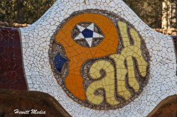 The tile work in the park was amazing