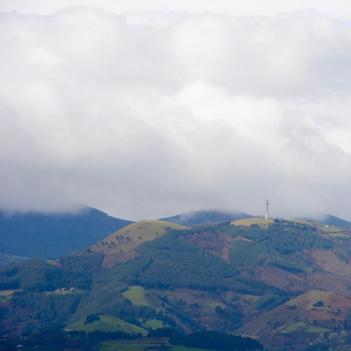 bilbao hills view