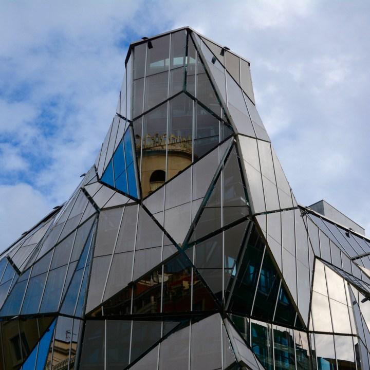 modern architecture bilbao spain