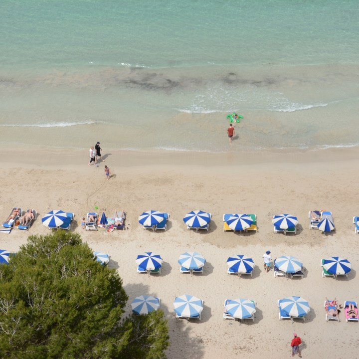 cala galdana hotel melia menorca beach