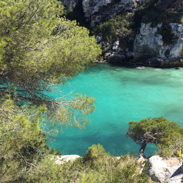 Cala marcaletta menorca beach