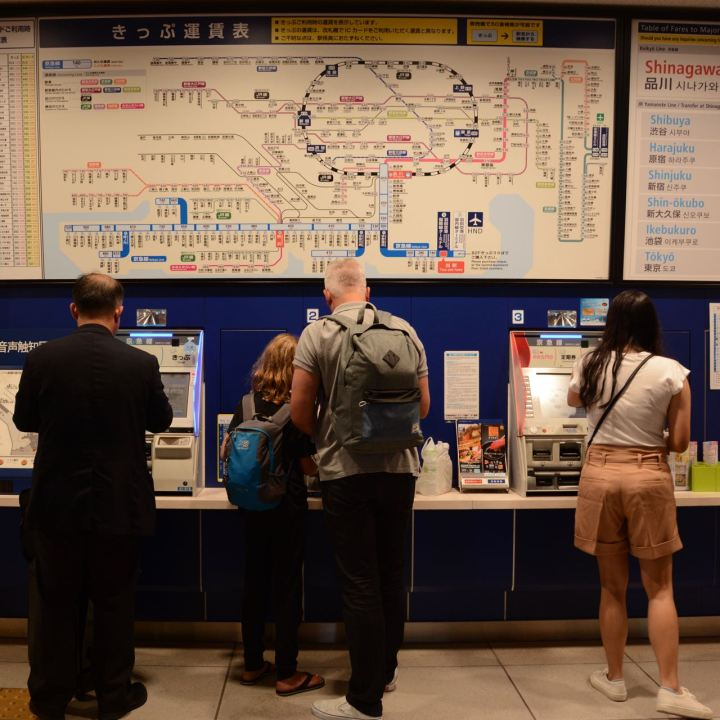 buying-tickets-for-the- Tokyo metro