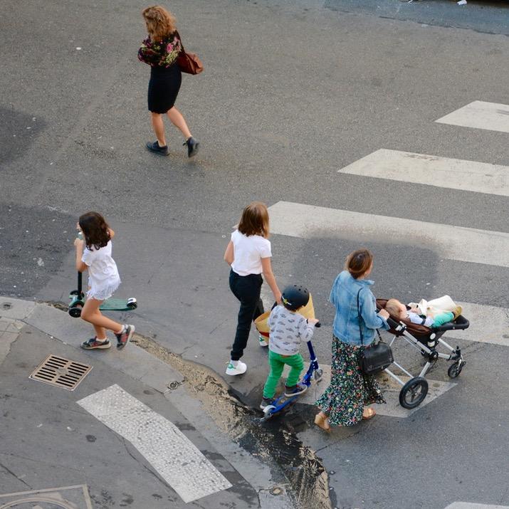 Paris France Montmatre children
