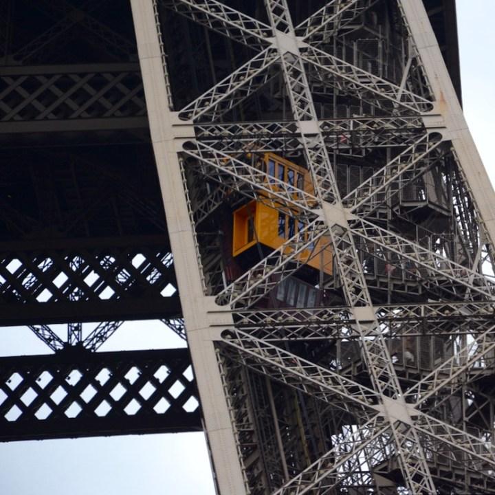 paris france eiffel tower lift