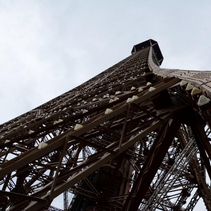 paris france eiffel tower top