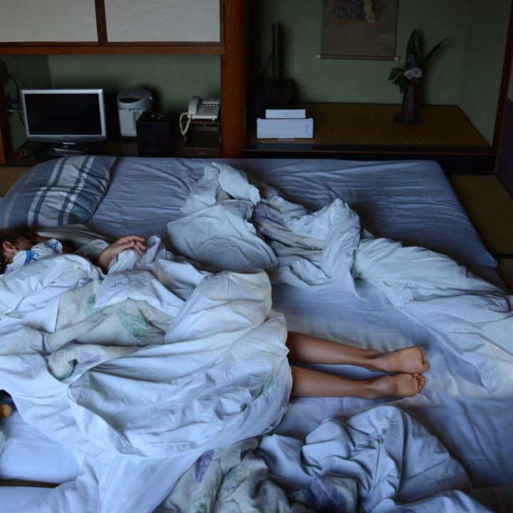 Ryokan Bingoya Kurashiki Japan bedroom