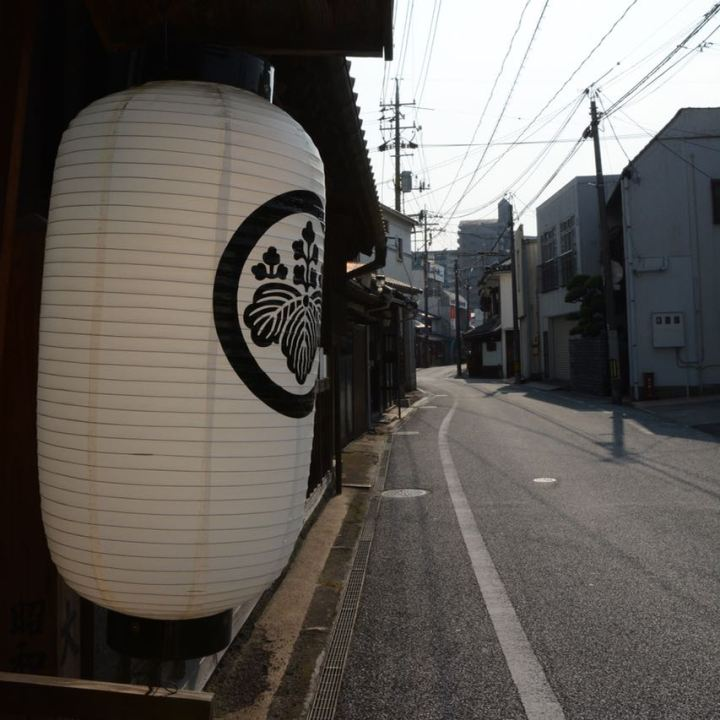 Kurashiki ohashi house lantern