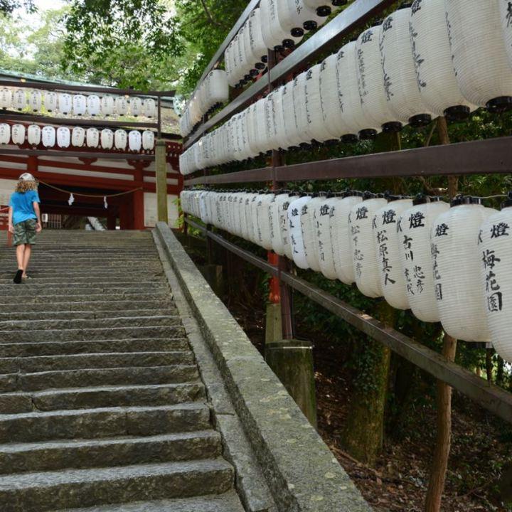 kibi plain cycle ride Kibitsu shrine