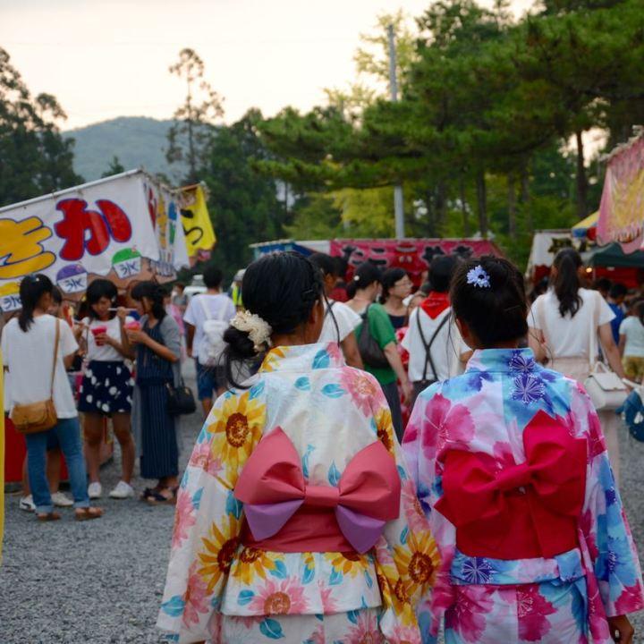 Okayama, Japan | Japanese Summer Festival Fun at Kibuhitso Shrine