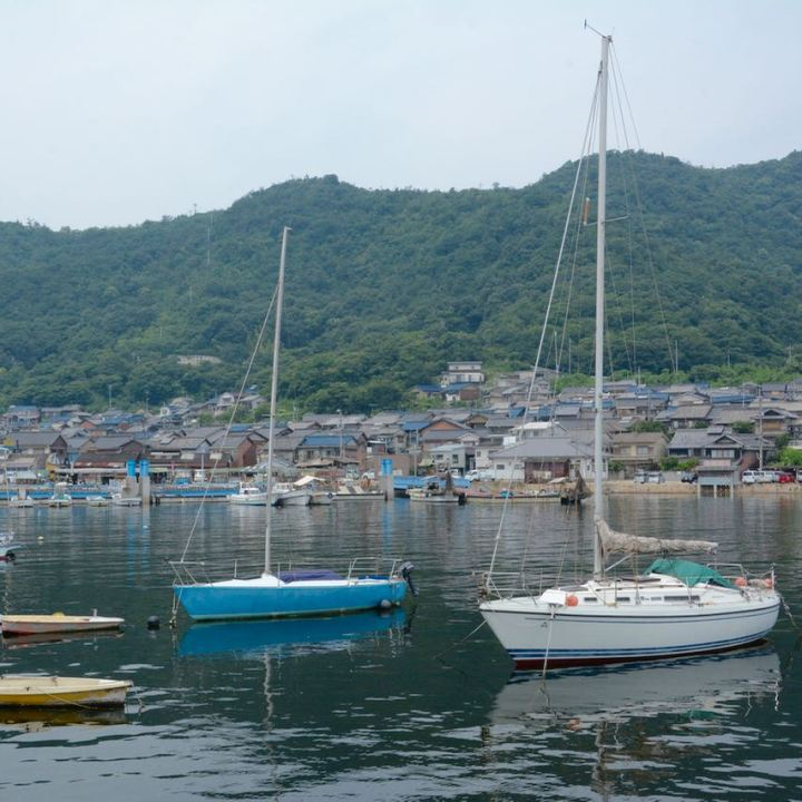 tomonoura port japan fisher boats