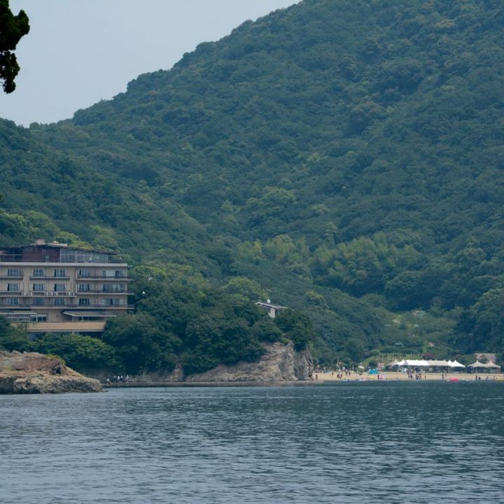 Tomonoura japan port Sensuijima beach ryokan