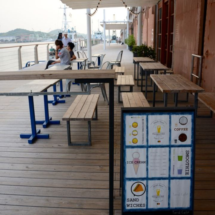 onomichi u2 cycle hotel cafe