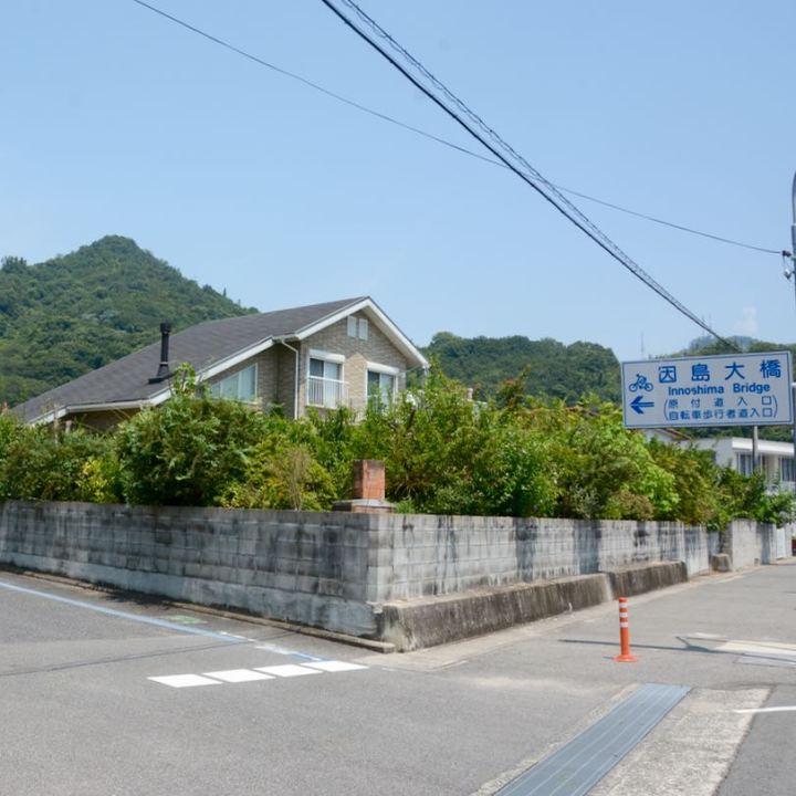 onomichi japan shimanai kaido mukoujima innoshima hashi bridge signpost