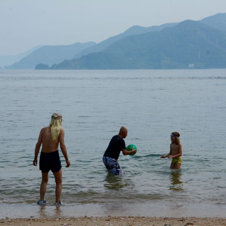 mukoujima island beach