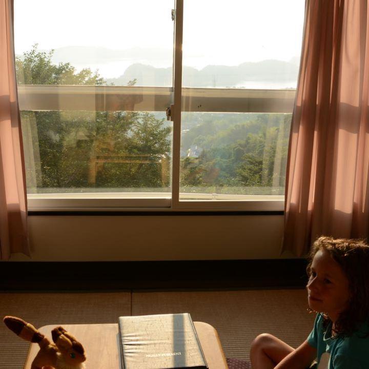 innoshima hotel room tatami floor