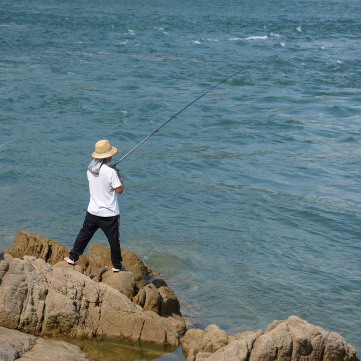 innoshima shimanami kaido cycle path fisherman